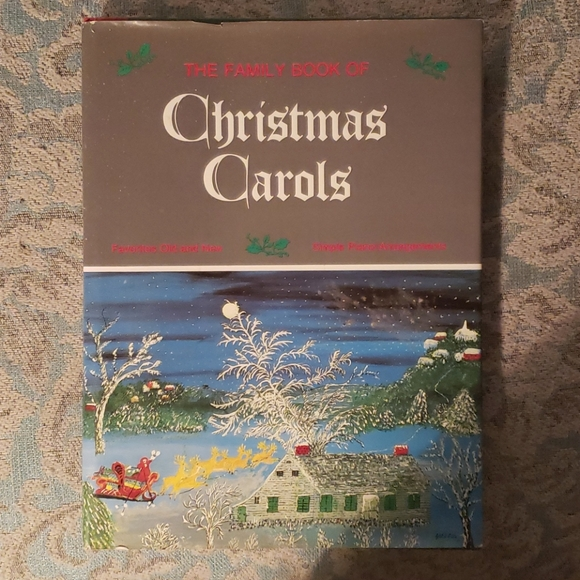 Vintage Christmas song book
